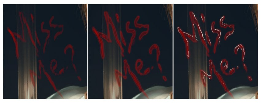 Paint Bloody Text in Photoshop