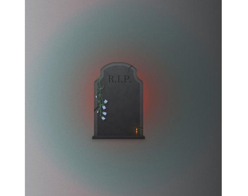 Adobe Illustrator Halloween Gravestone by Butu