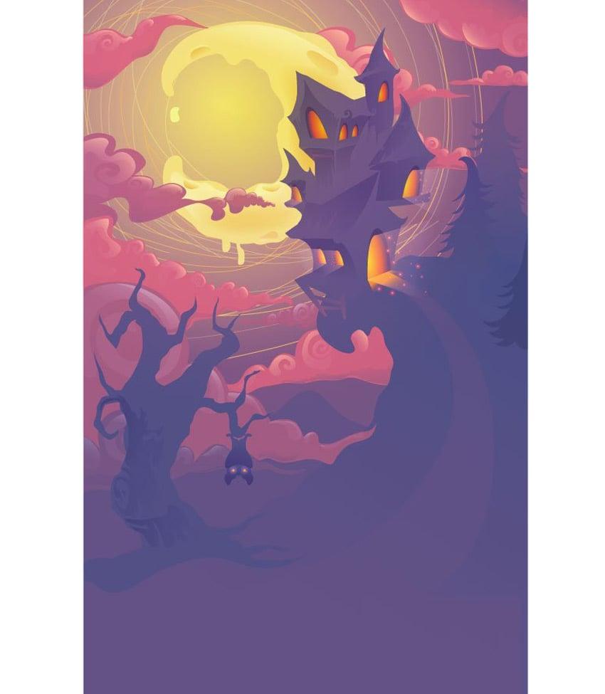 Adobe Illustrator Halloween House by Christian McLean