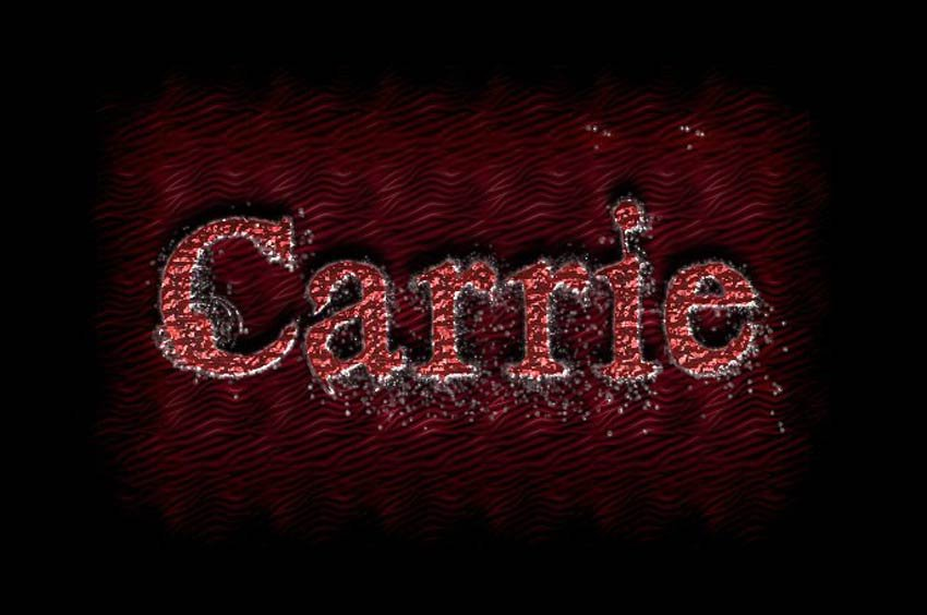 Photoshop Scary Text Effect by Hope Wagner