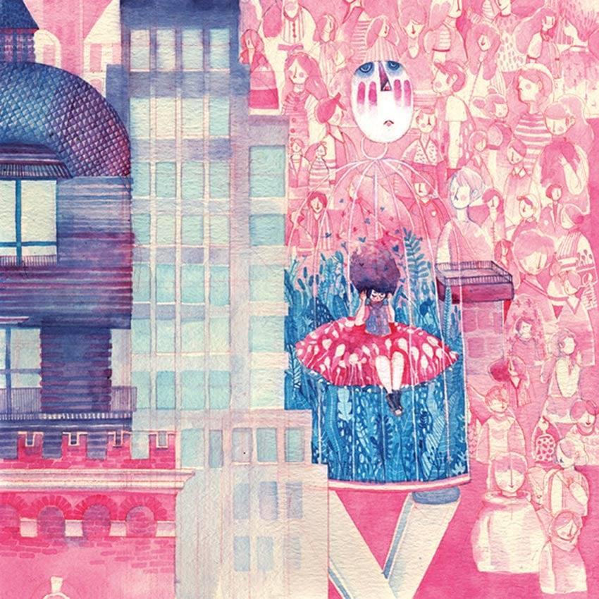 Watercolors Art by Daniela Arias