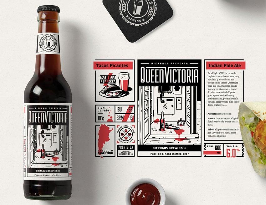 Bierhaus Brewing Co Art by Gustavo Zambelli