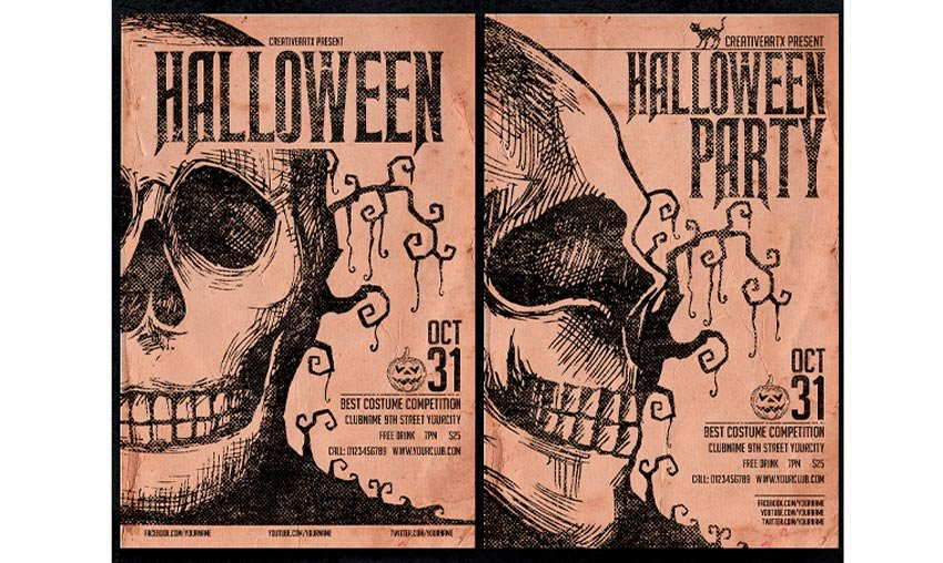 Grunge Vintage Halloween Part