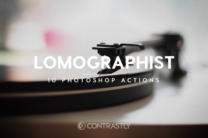 Lomographist Photoshop Actions