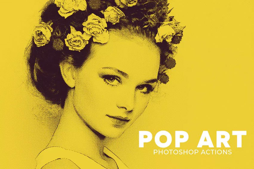 Pop Art Photoshop Actions Download
