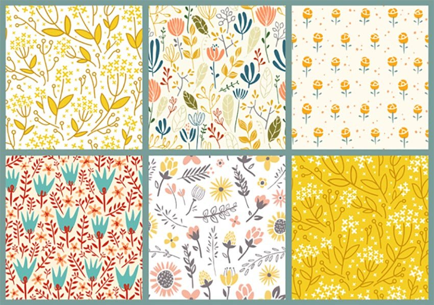 Simple Flower Patterns