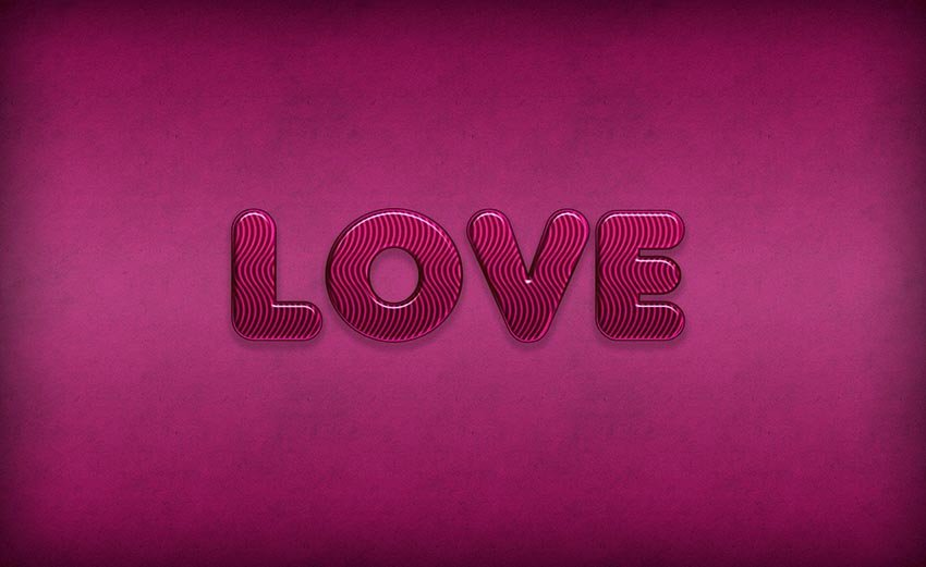 Candy Photoshop Text Effect yeuit141