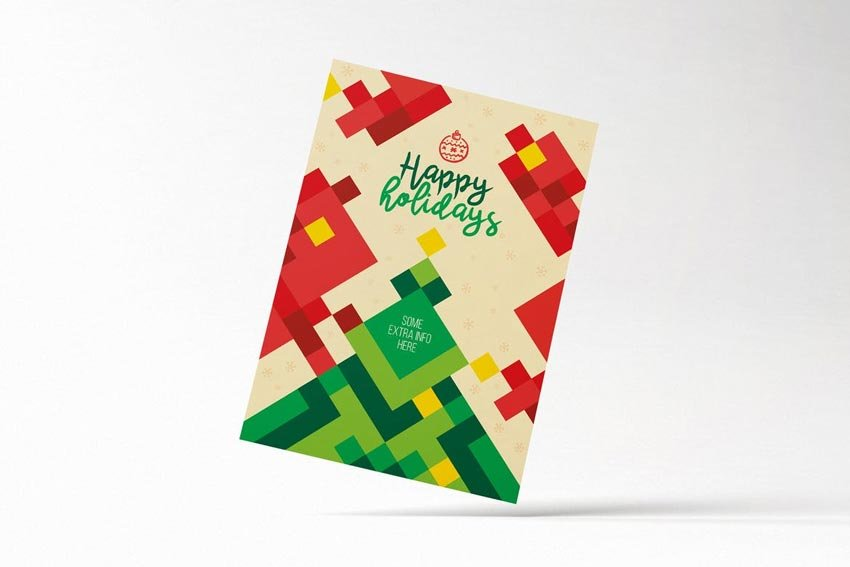 Modern Minimal Christmas Flyer