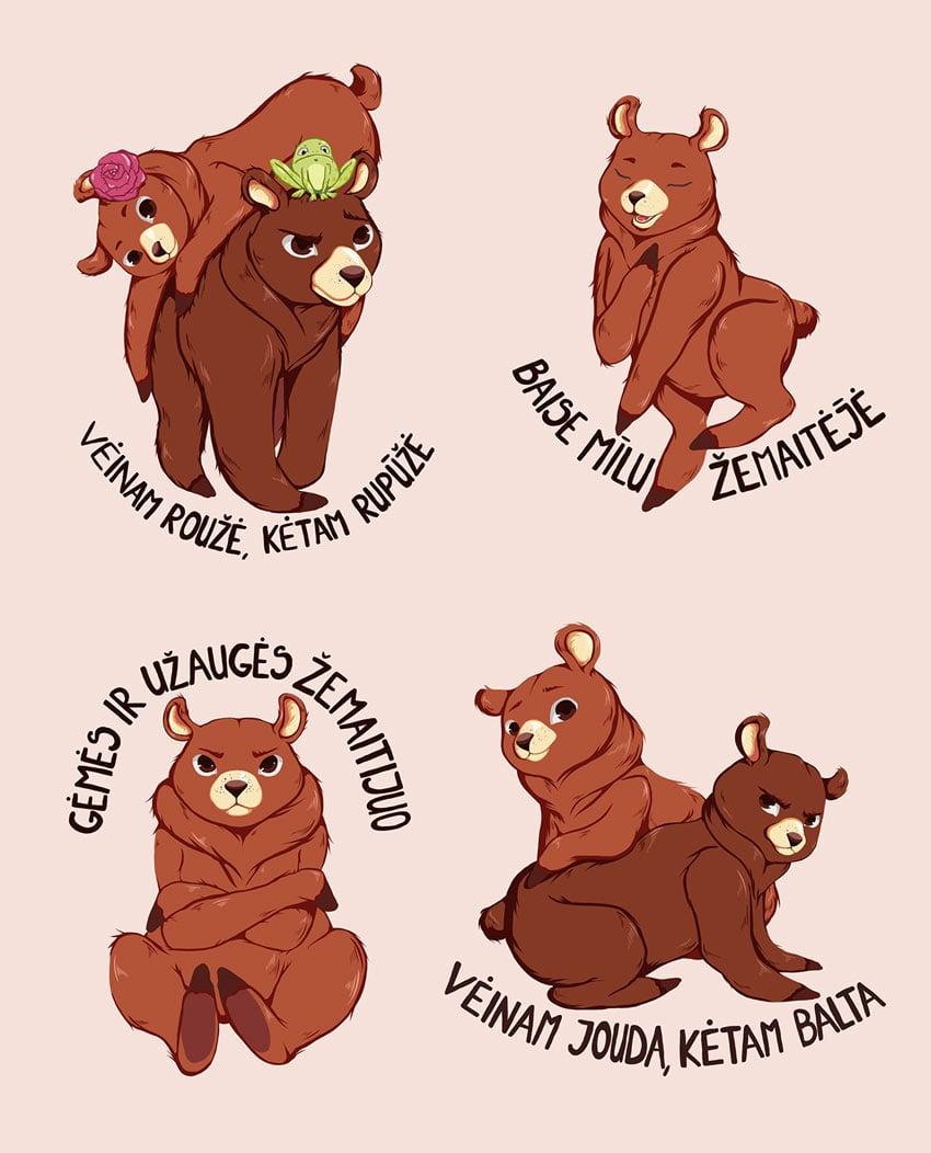 emaitijas bears by Jovita Rajunciute