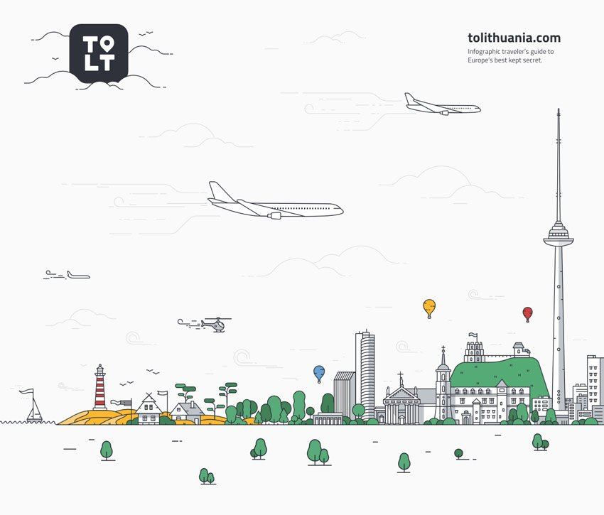 Go to Lithuania by Justina Lei