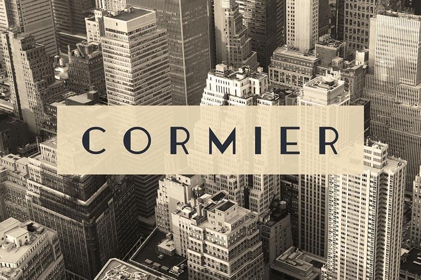 Cormier Font