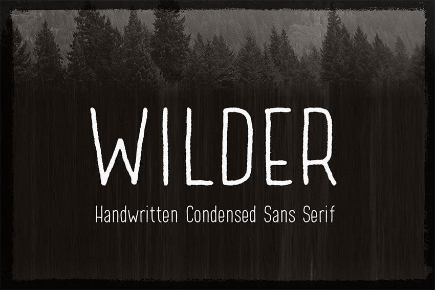 Wilder Font