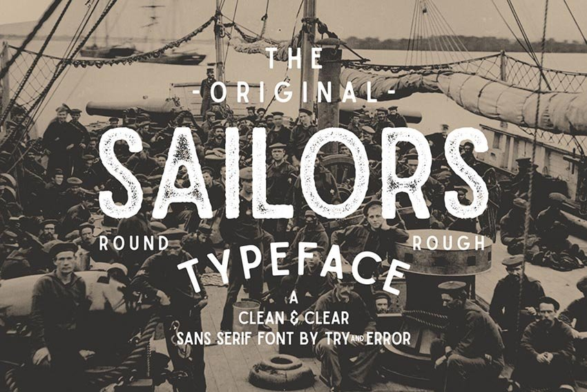 Sailors Font