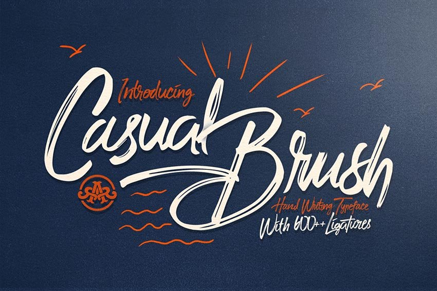 Casual Brush Font