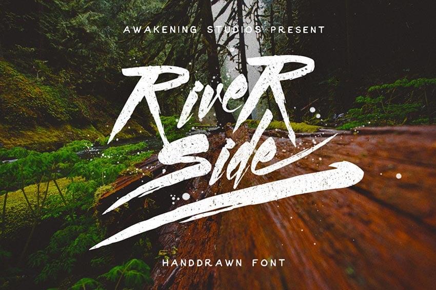 River Side Font