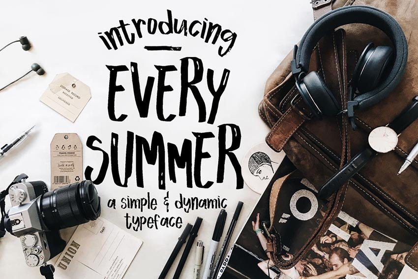 Every Summer Font