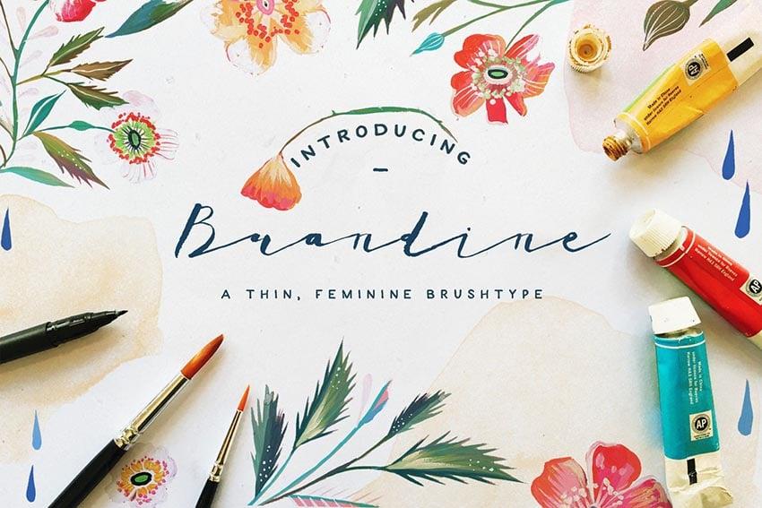 Brandine Font