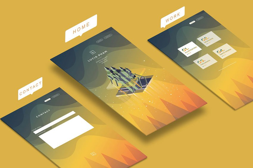 L - Personal App by Lucia Pham