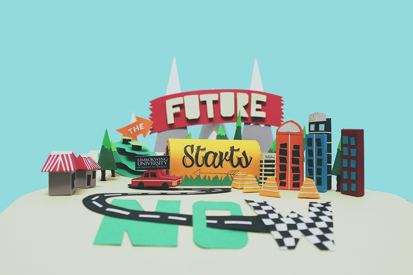 The Future Starts Now by Thao Tran
