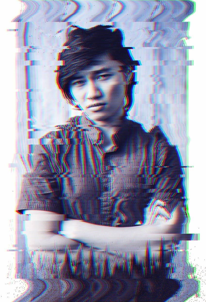 Glitch Photo Effect Photoshop Tutorial by Melody Nieves