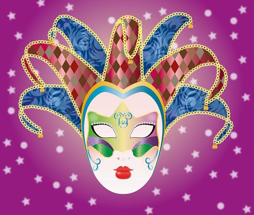 Carnival Mask by Lysmar Acevedo