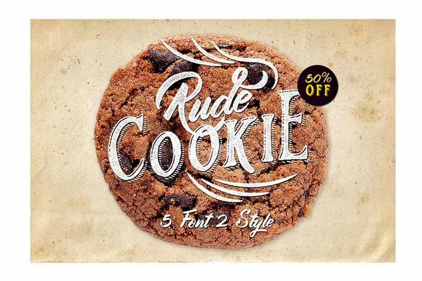 Rude Cookie Font