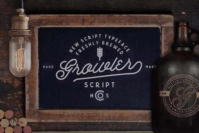 Growler Script Font