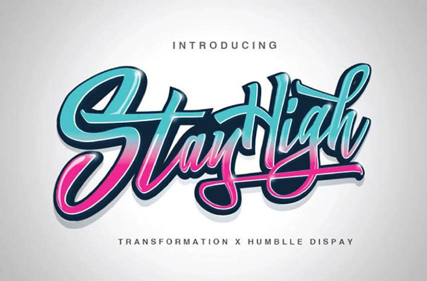 Stay High Typeface