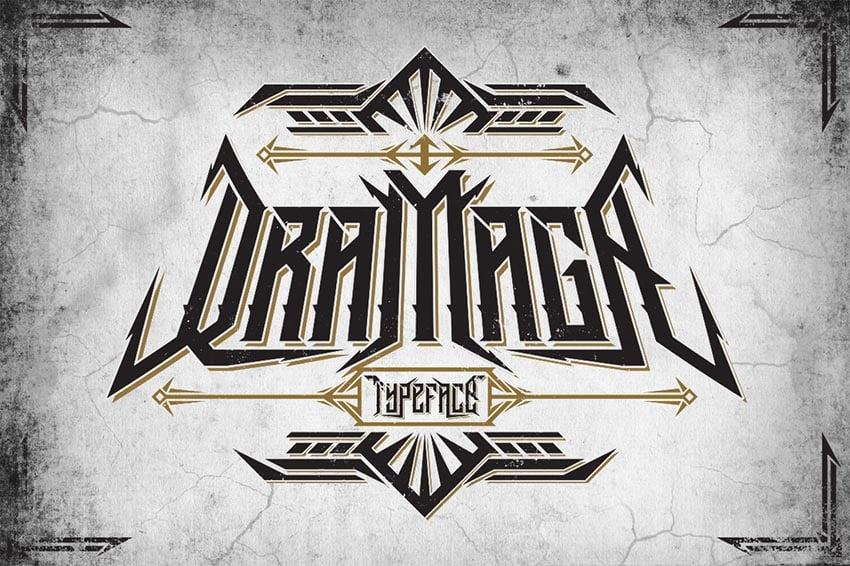 Dramaga Typeface