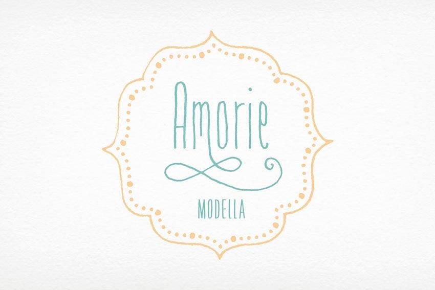 Amorie Modella Font Family