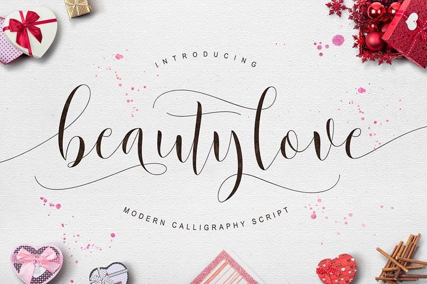 Beautylove Script Font
