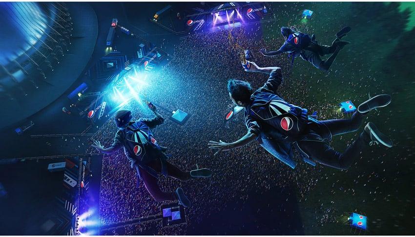 Pepsi Skydive Design by Marcelo Moya Ochoa