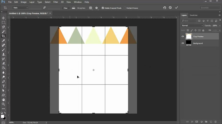 Add More Shapes and Crop the Document