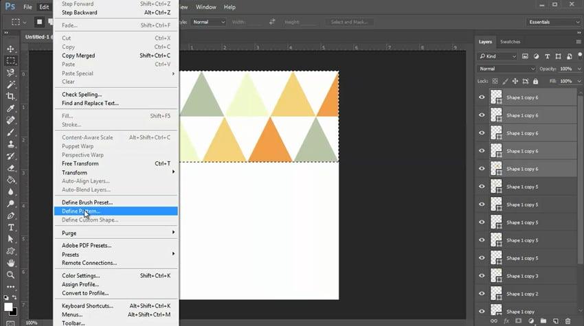 Define Your New Pattern Design