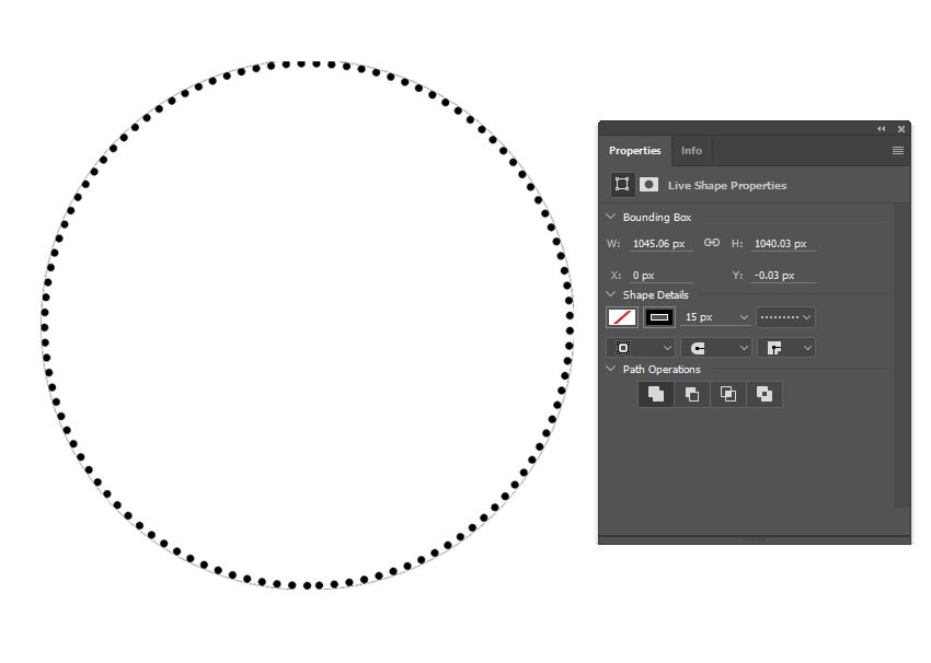 Create a Dotted Circle