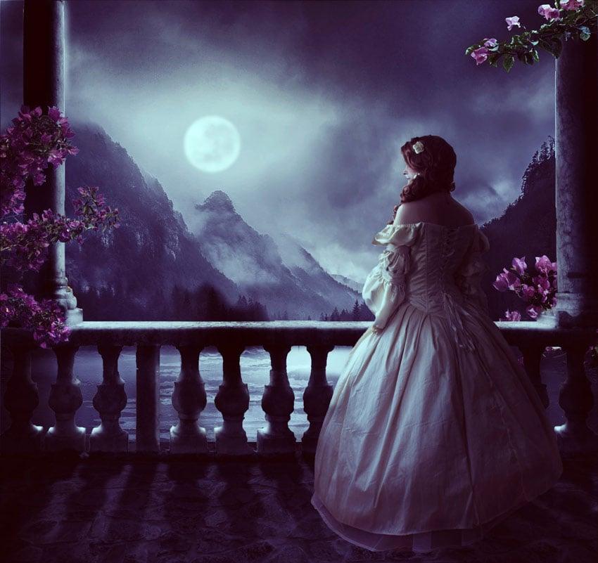Moonlight Photo Manipulation by Irina