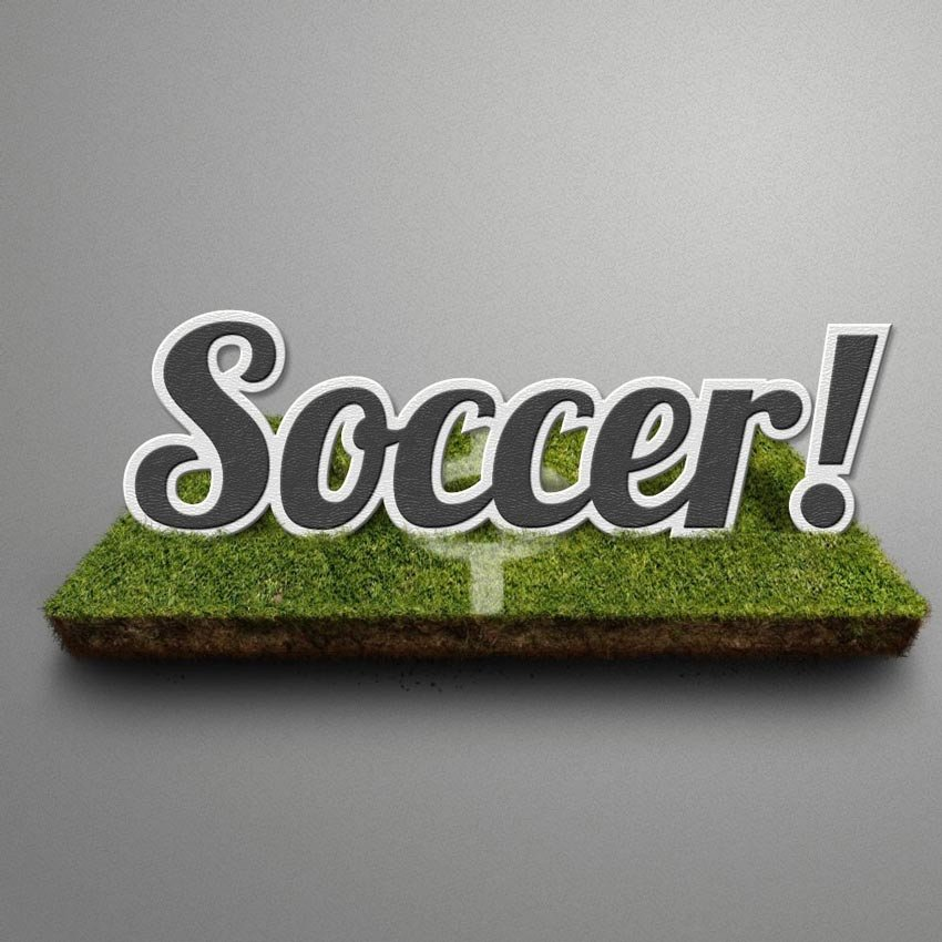 Soccer Text Effect by Monkhe