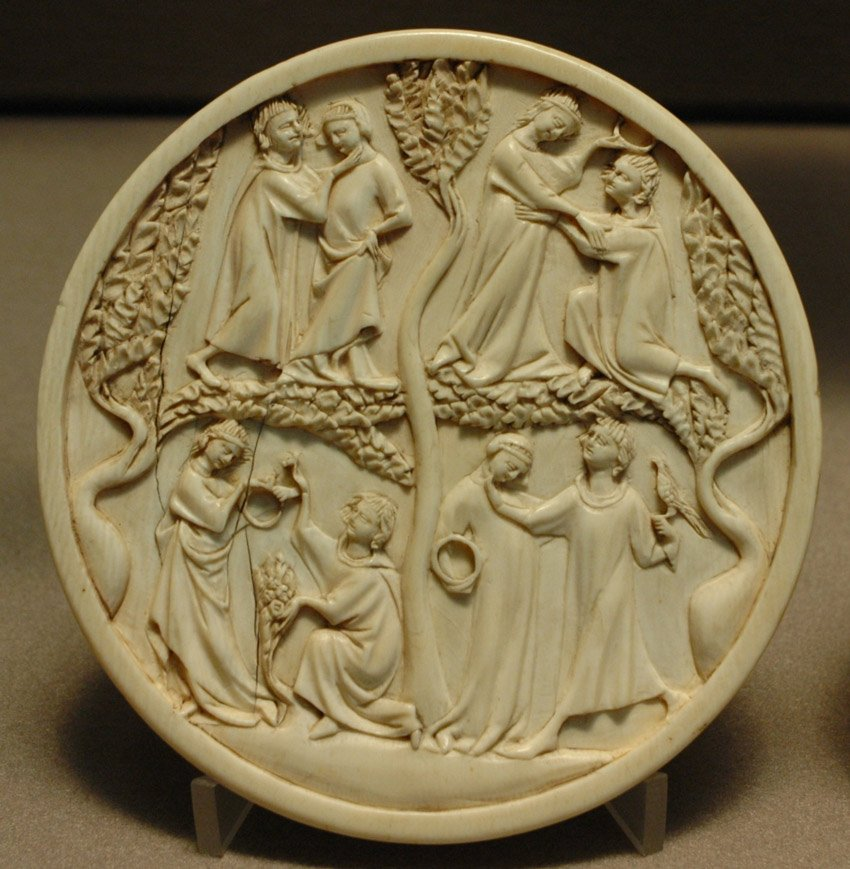 Ivory Carving from the Middle Ages