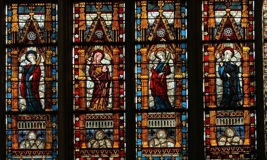 Stained Glass from The Middle Ages