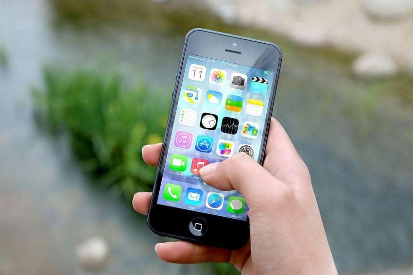 Iphone Apps Flat Design