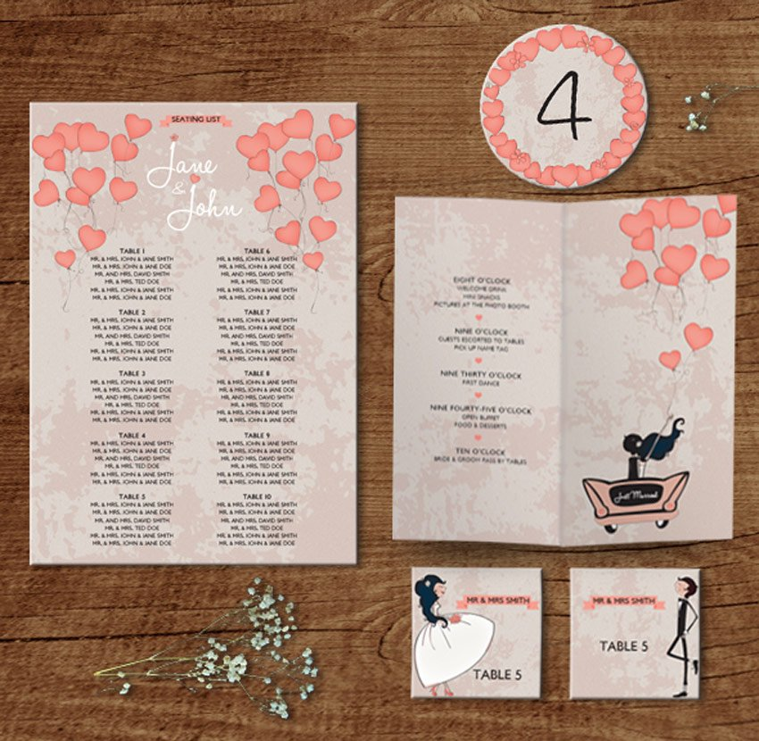 In the Air - Wedding Pack