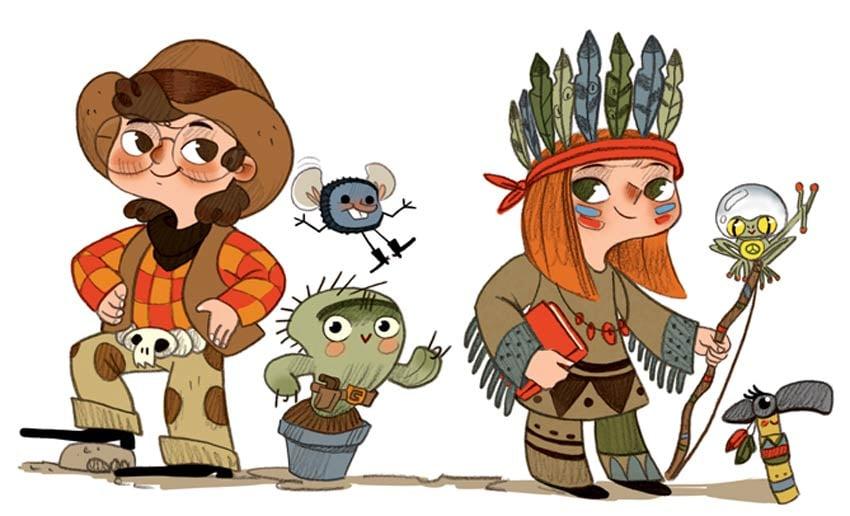 Web Characters by Laura Moreno Yanguas