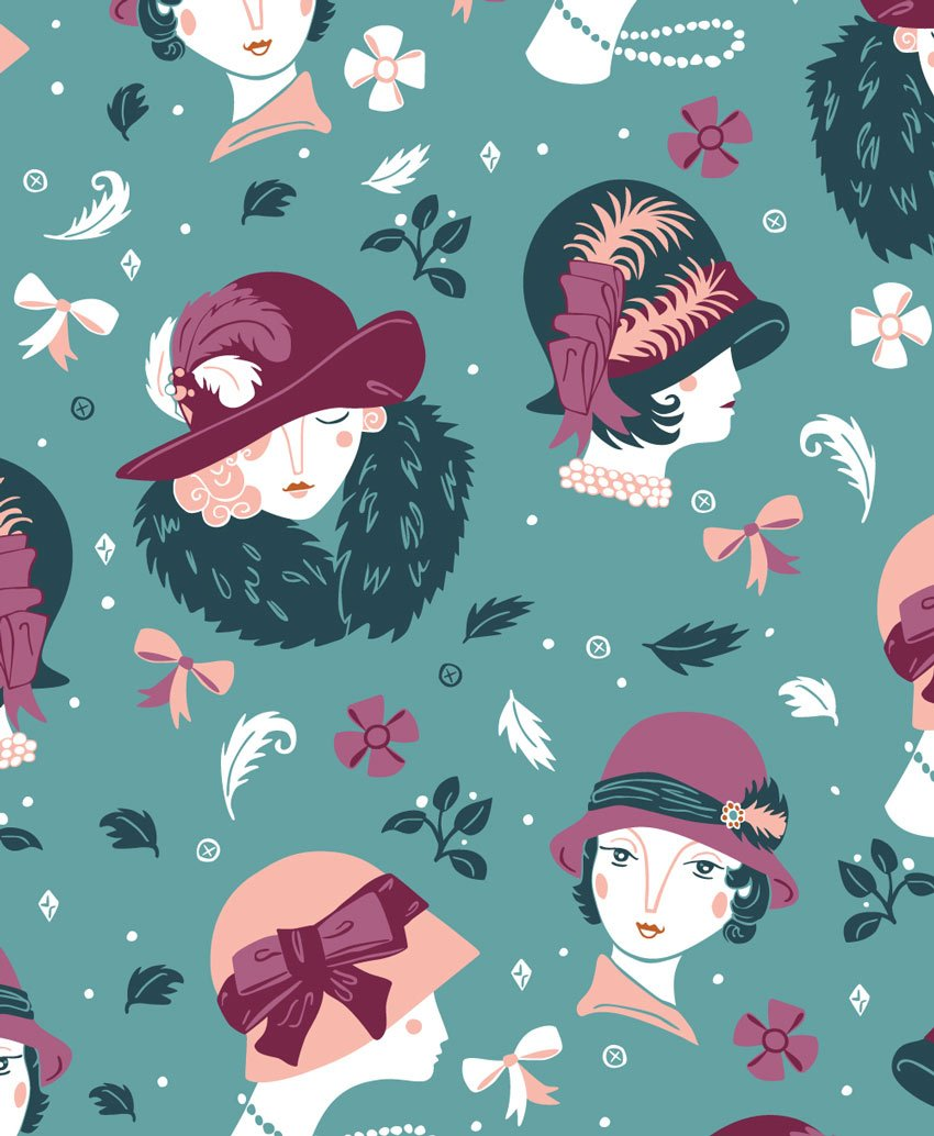 Vintage Fashion Patterns by Paula McGloin
