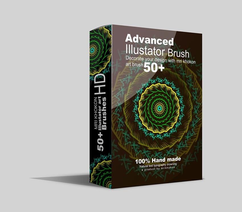 50 Adobe Illustrator Brush Set