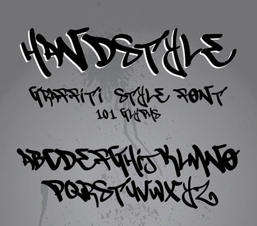 Handstyle Graffiti