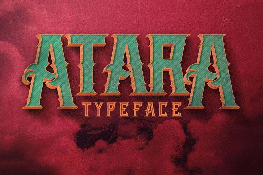 Atara Typeface
