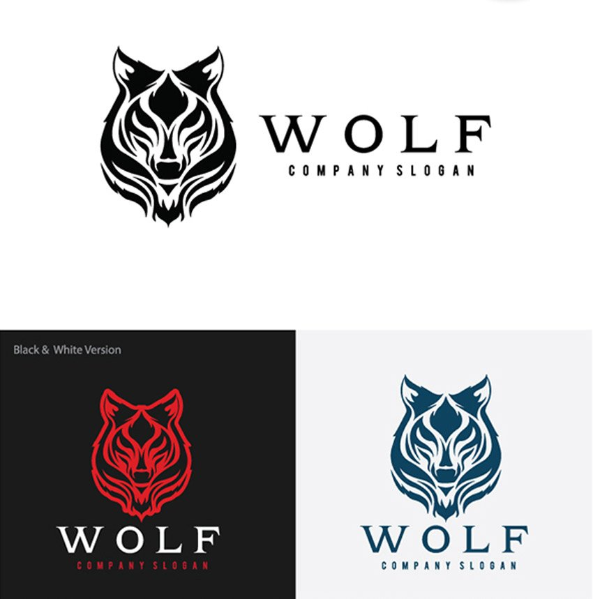 Wolf II Logo