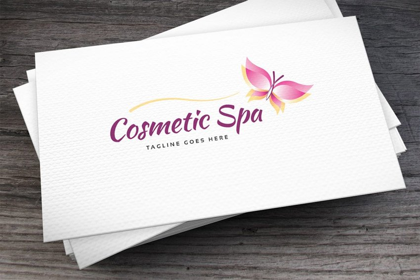 Cosmetic Spa Logo Template