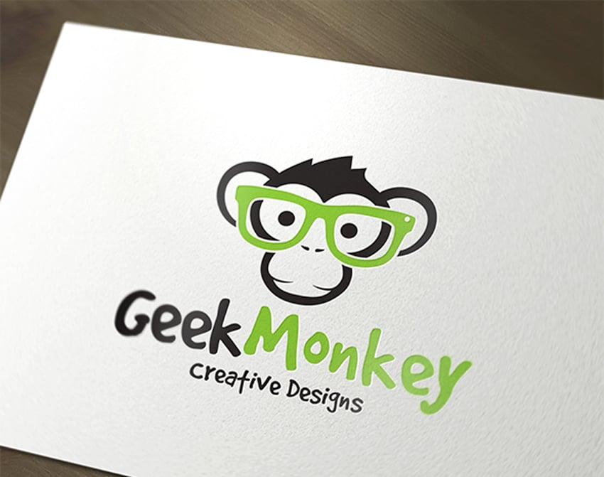 Geek Monkey Logo