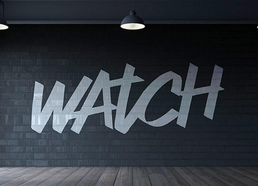 Watch Typeface